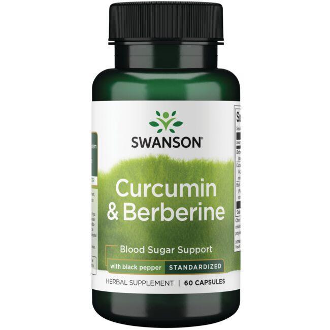Swanson Superior HerbsCurcumin & Berberine with Black Pepper