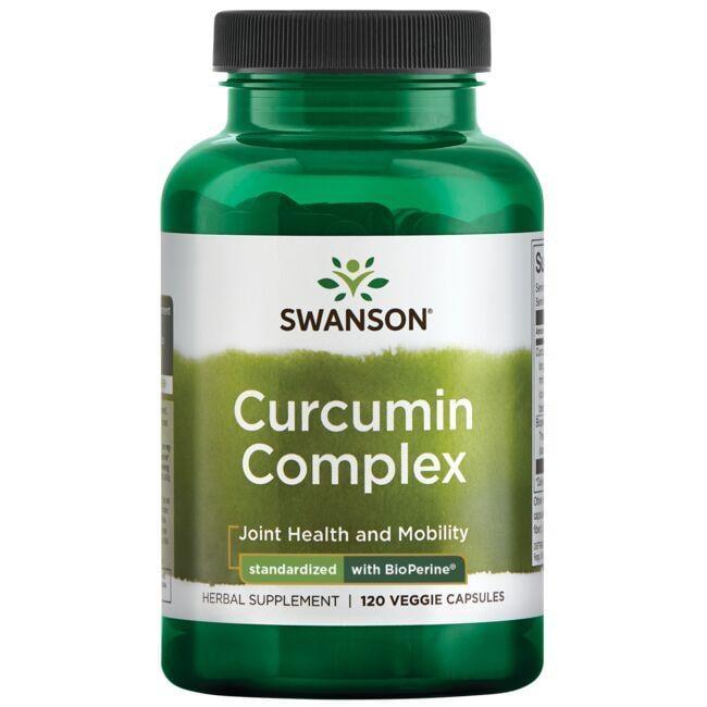 Swanson Superior HerbsCurcumin Complex - Standardized with BioPerine