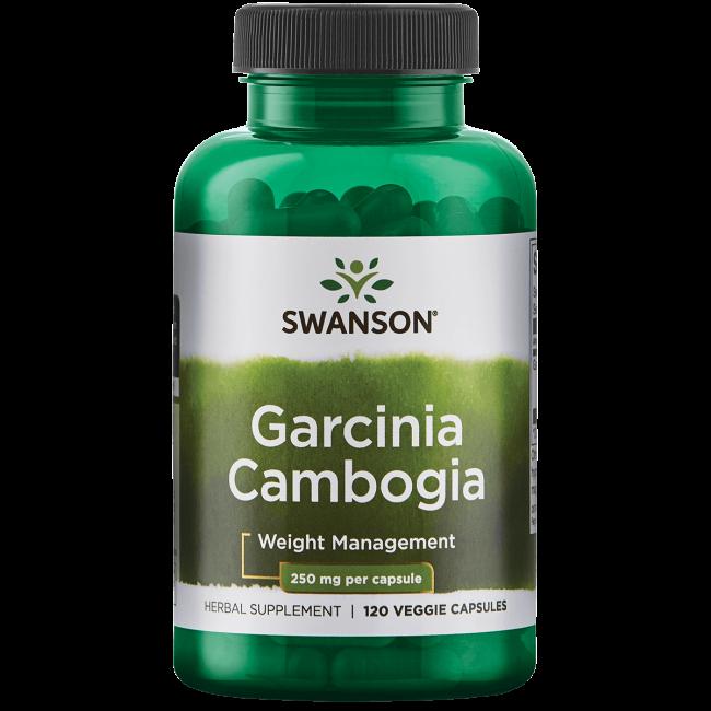 Swanson Garcinia Cambogia 250 mg 120 Veggie Capsules