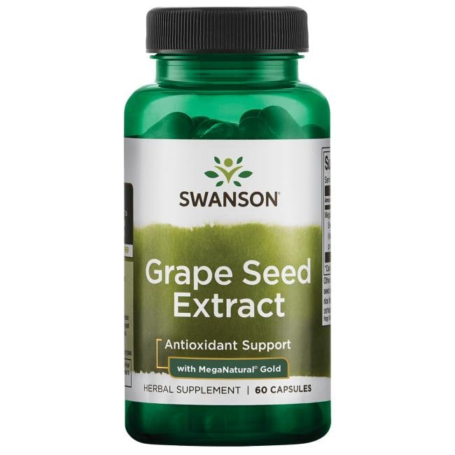 Swanson Superior Herbs Grape Seed Extract with MegaNatural Gold