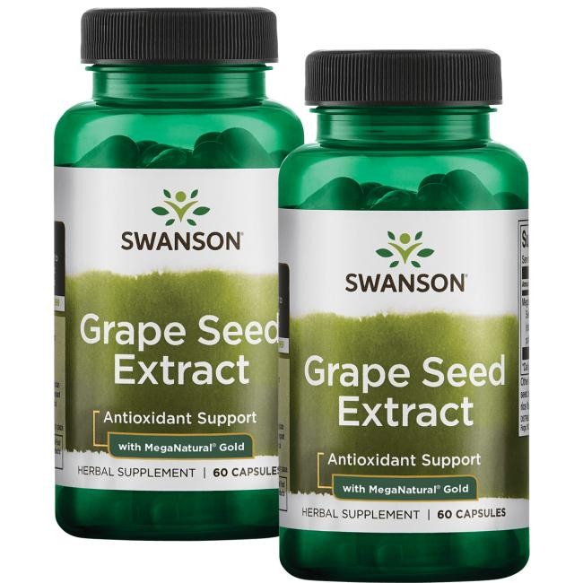 Swanson Superior HerbsGrape Seed Extract with MegaNatural Gold