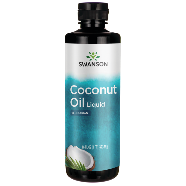 Swanson Healthy FoodsLiquid Coconut Oil Natural Flavor