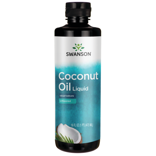 Swanson Healthy FoodsLiquid Coconut Oil Unflavored