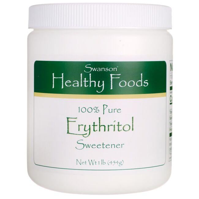 Swanson Healthy Foods 100% Pure Erythritol
