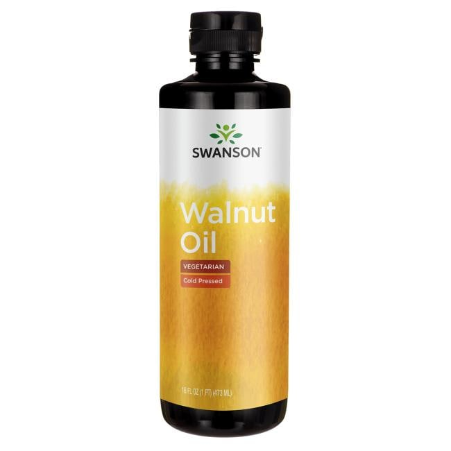 Swanson Healthy Foods Walnut Oil, Cold Pressed