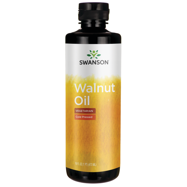 Swanson Healthy Foods100% Natural Walnut Oil, Cold Pressed