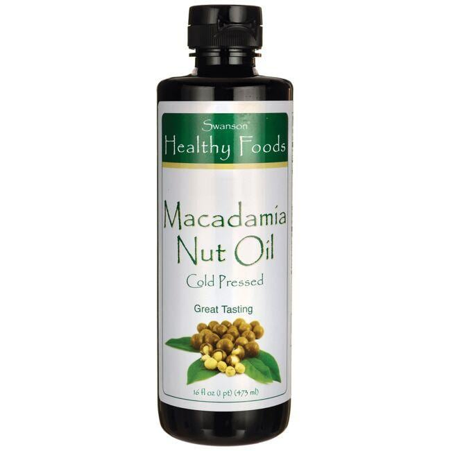 Swanson Healthy FoodsMacadamia Nut Oil - Cold Pressed