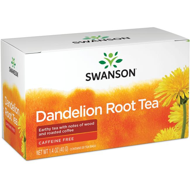 Swanson Healthy Foods Dandelion Root Tea