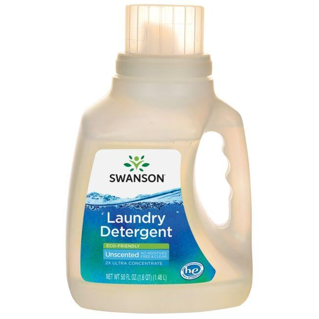 Swanson Healthy Home Laundry Detergent - Eco-Friendly - Unscented