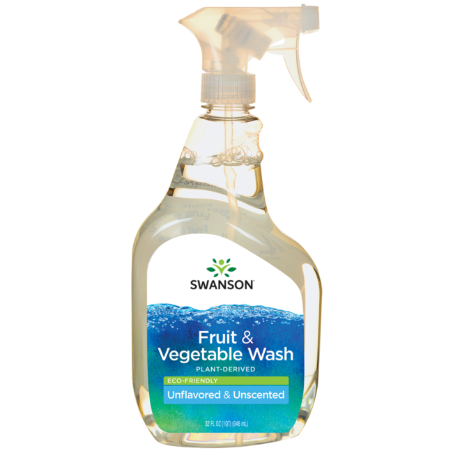 Swanson Healthy Home Eco-Friendly Fruit & Vegetable Wash