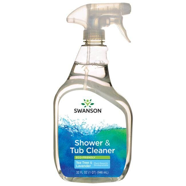 Swanson Healthy Home Shower & Tub Cleaner - Eco-Friendly - Tea Tree & Lavender
