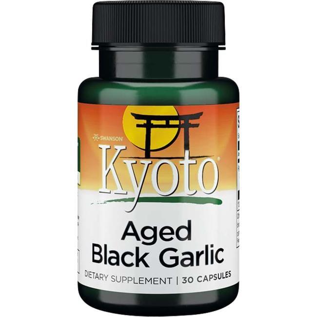 Swanson Kyoto BrandAged Black Garlic