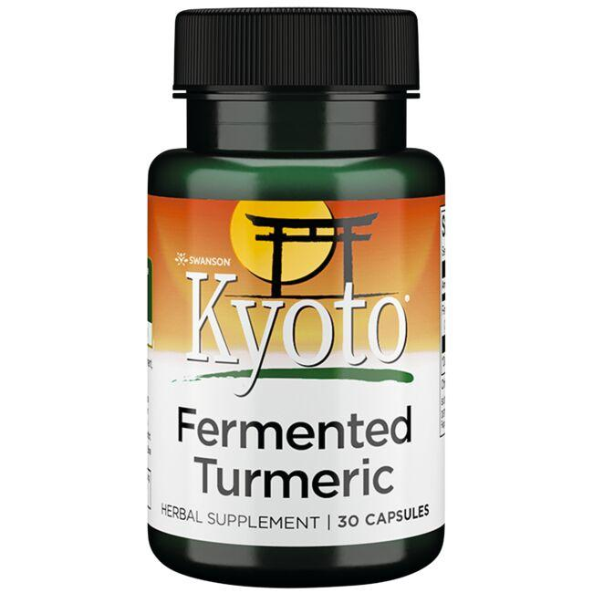 Swanson Kyoto Brand Maximum Strength Fermented Turmeric