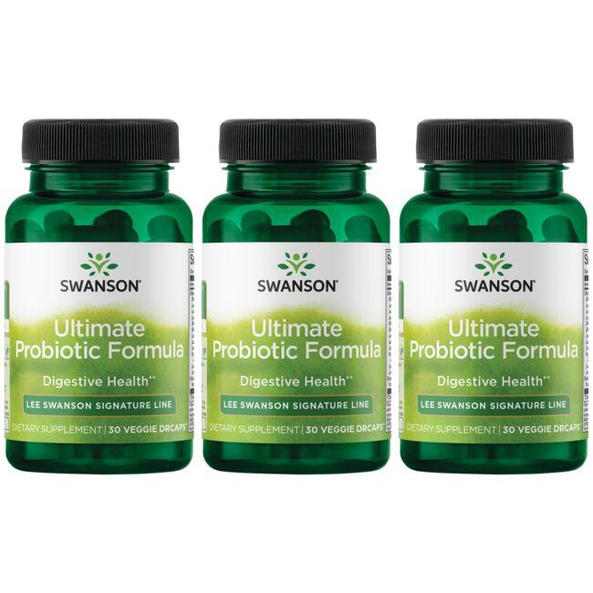 Lee Swanson Signature Line Ultimate Probiotic Formula - 3 Pack