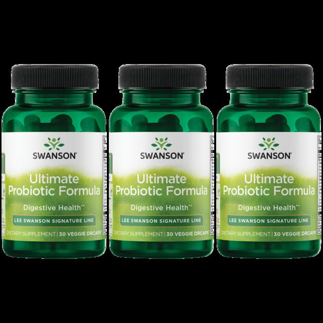 Lee Swanson Signature Line Ultimate Probiotic Formula 3-Pack