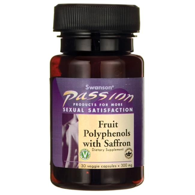 Swanson Passion Fruit Polyphenols with Saffron