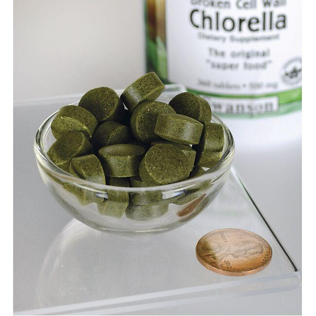 Swanson GreenFoods FormulasBroken Cell Wall Chlorella Close Up