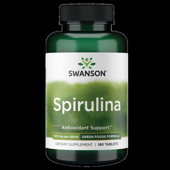 Swanson GreenFoods Formulas Spirulina
