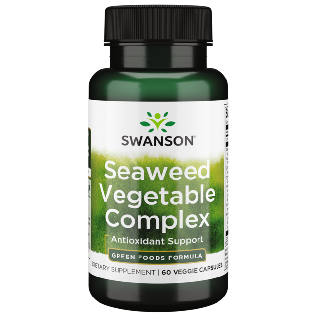 Swanson GreenFoods FormulasSeaweed Vegetable Complex