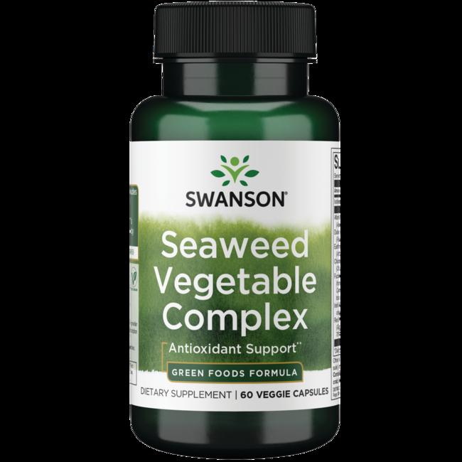 Swanson GreenFoods FormulasSeaweed Vegetable Complex