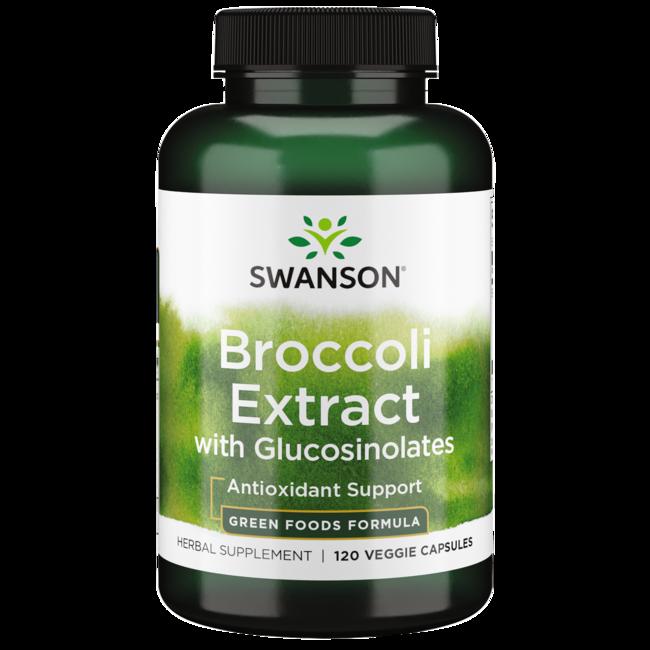 Swanson GreenFoods Formulas Extra-Strength Broccoli Extract with Glucosinolates