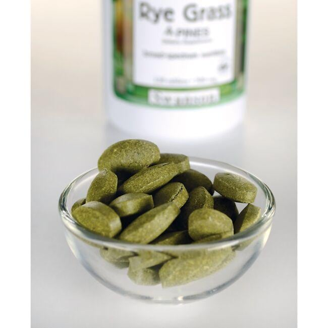 Swanson GreenFoods FormulasRye Grass Close Up