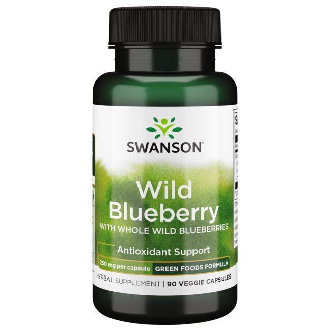 Swanson GreenFoods FormulasWild Blueberry