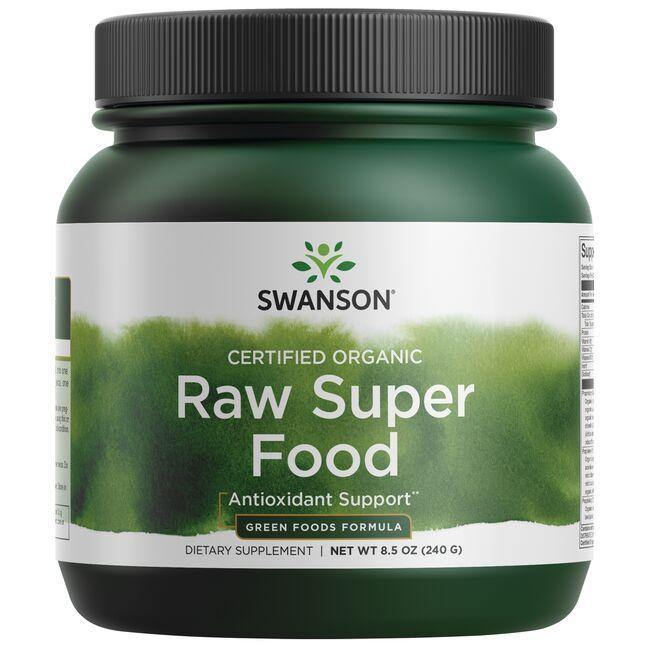 Swanson GreenFoods FormulasCertified Organic Raw Super Food
