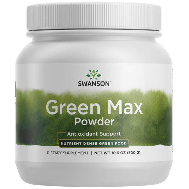 Swanson GreenFoods Formulas Green Max Powder