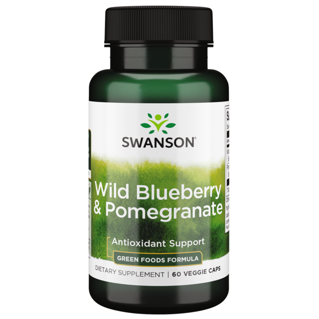 Swanson GreenFoods FormulasWild Blueberry + Pomegranate