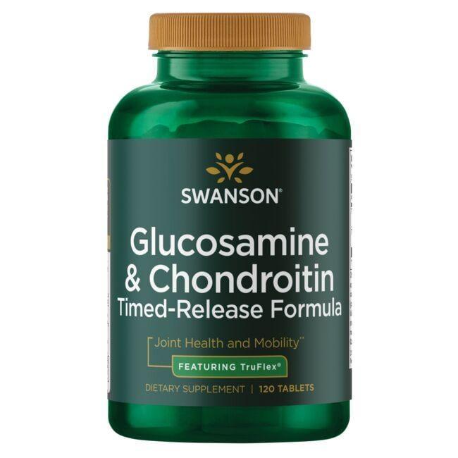 Swanson UltraGlucosamine & Chondroitin Sulfate - Timed-Release Formula