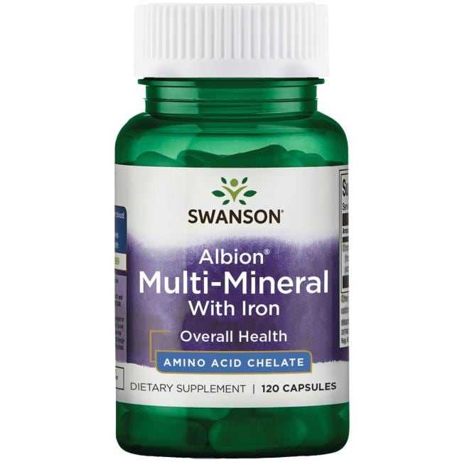 Swanson Ultra Chelated Multi-Mineral With Iron
