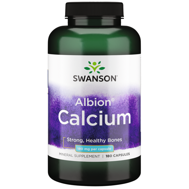 Swanson UltraAlbion Chelated Calcium Glycinate