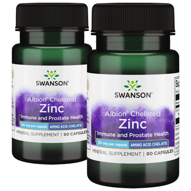 Swanson Ultra Chelated Zinc