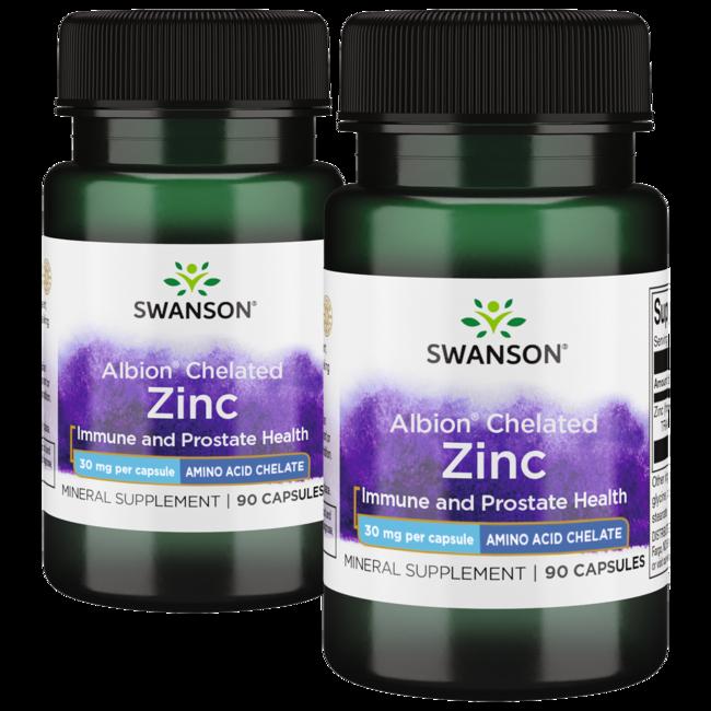 Swanson Ultra Albion Chelated Zinc Glycinate