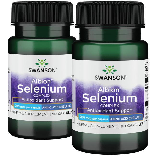 Swanson UltraAlbion Selenium Complex - 2 Pack
