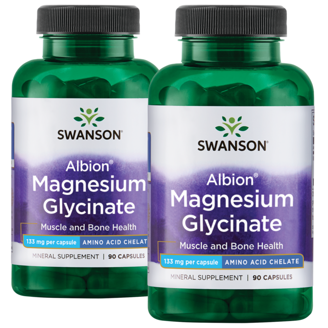 Swanson Ultra Albion Chelated Magnesium Glycinate