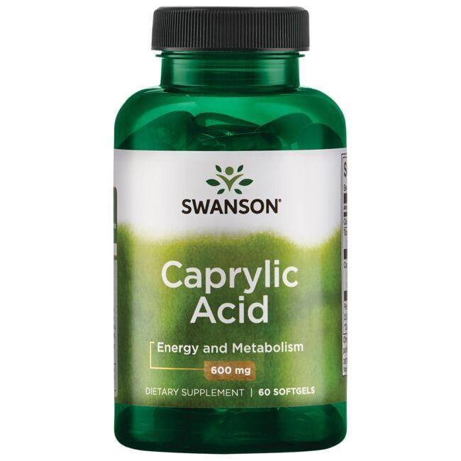 Swanson UltraCaprylic Acid