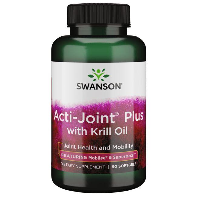 Swanson Ultra Acti-Joint Plus with Krill Oil