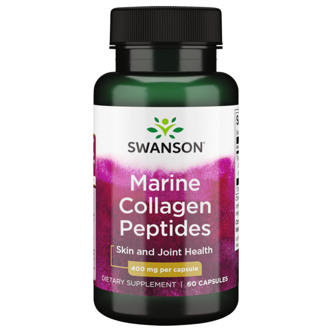 swanson ultra hydrolyzed fish collagen type i 400 mg 60