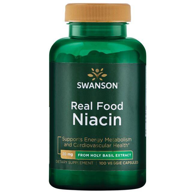 Swanson UltraReal Food Niacin