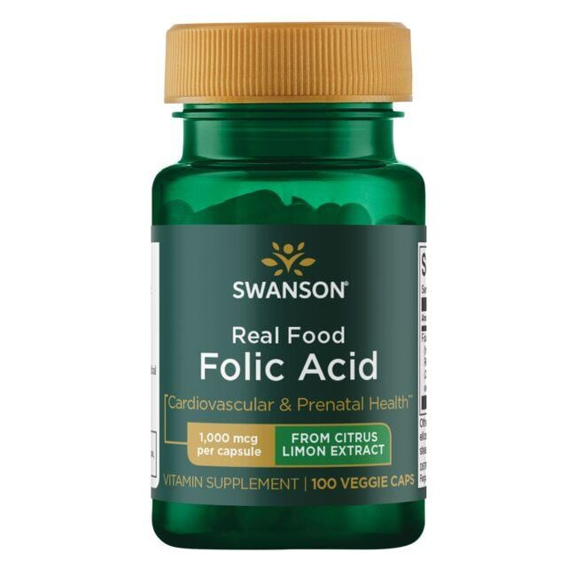 Swanson Ultra Real Food Folic Acid