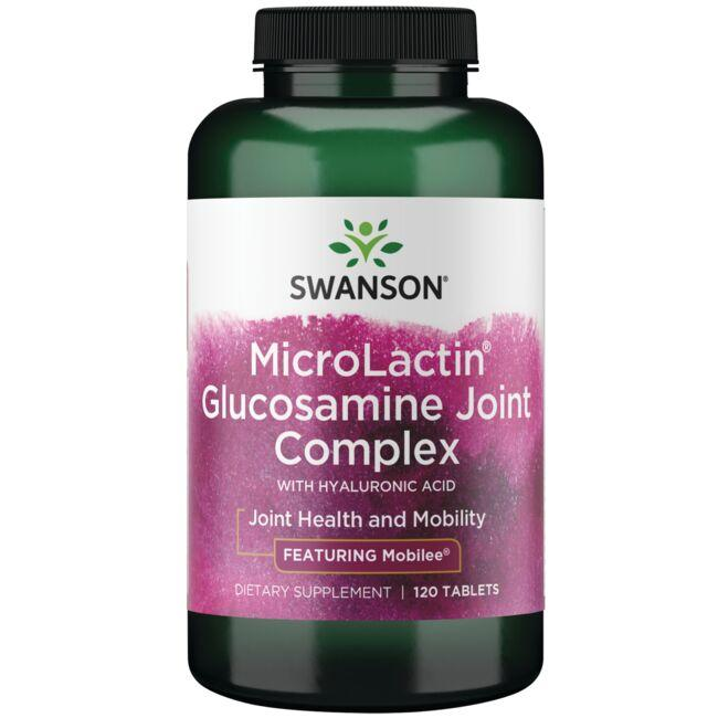 Swanson Ultra MicroLactin Glucosamine Joint Complex - Featuring Hyal-Joint