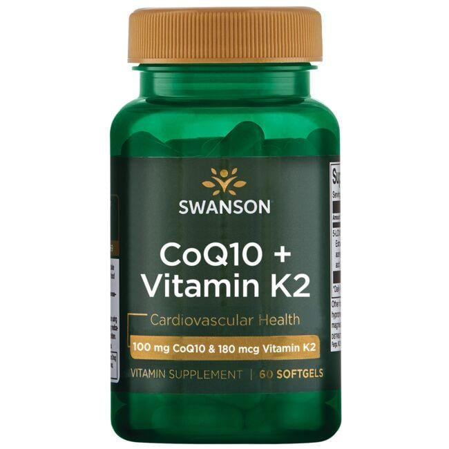 Swanson UltraCoQ10 + Vitamin K2