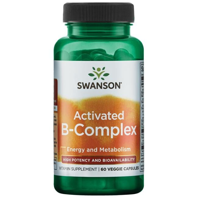 Swanson Ultra Activated B-Complex High Potency and Bioavailability