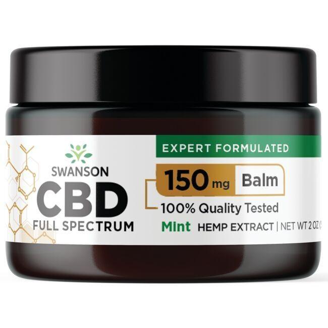 Swanson UltraCBD Full Spectrum Balm - Mint