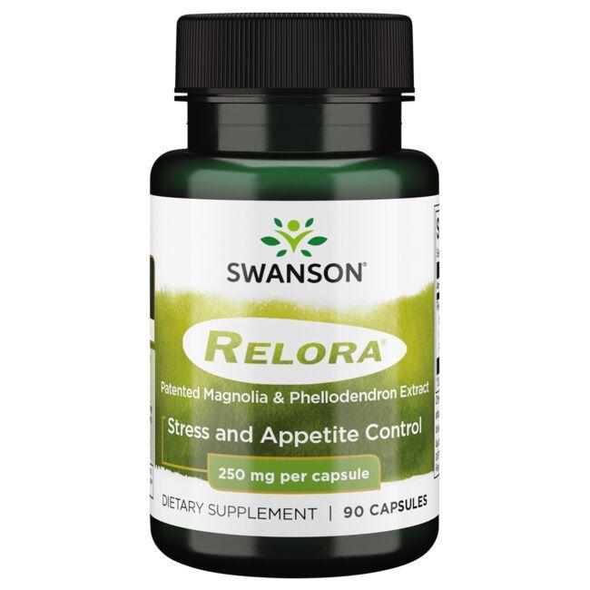 Swanson UltraRelora - Patented Magnolia & Phellodendron Extract
