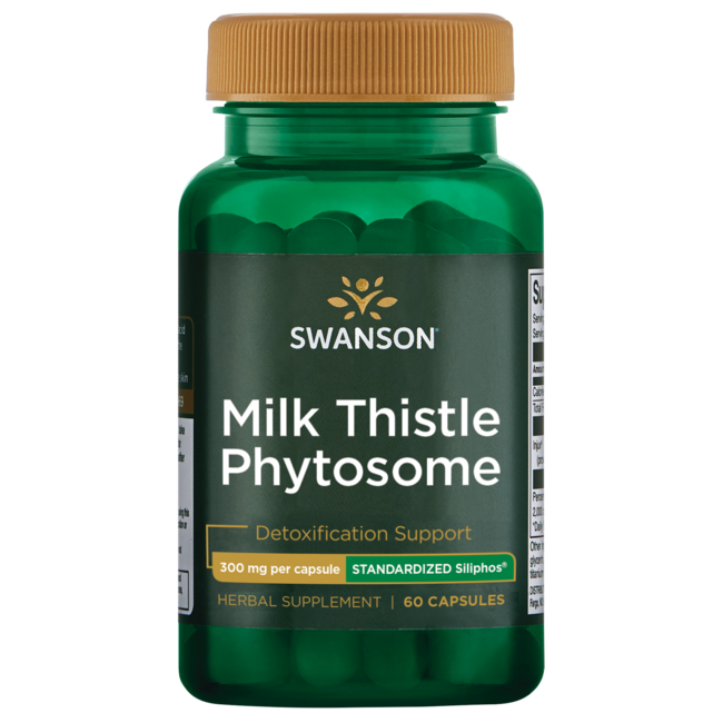 Swanson Ultra Siliphos Milk Thistle Phytosome