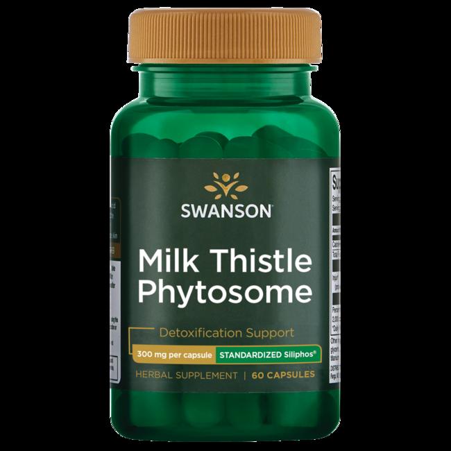 Swanson UltraSiliphos Milk Thistle Phytosome