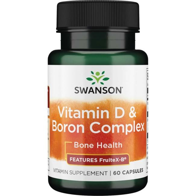 Swanson UltraVitamin D & Boron Complex - Features FruitX-B